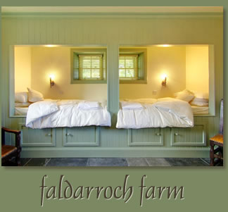 Faldarroch House, Historial Accommodation