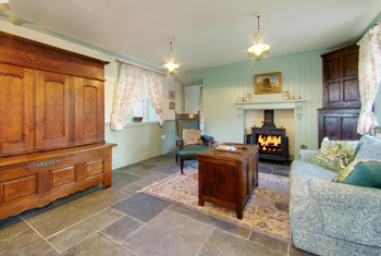 Faldarroch Farm Living Room, Self Catering Holiday Accommodation