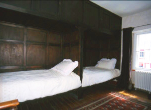 Historic Box Beds in Pend House Self Catering Accommodation
