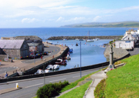 Port William Harbour, Wigtownshire, South West Scotland